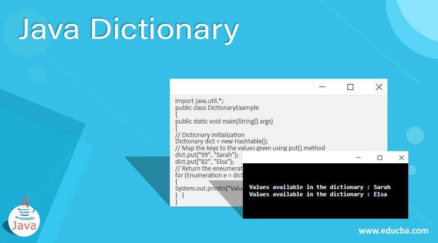 Java Dictionary