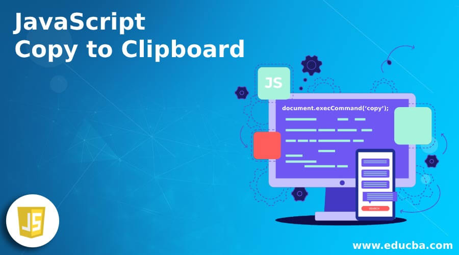 JavaScript Copy to Clipboard