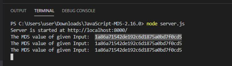 JavaScript MD5 3