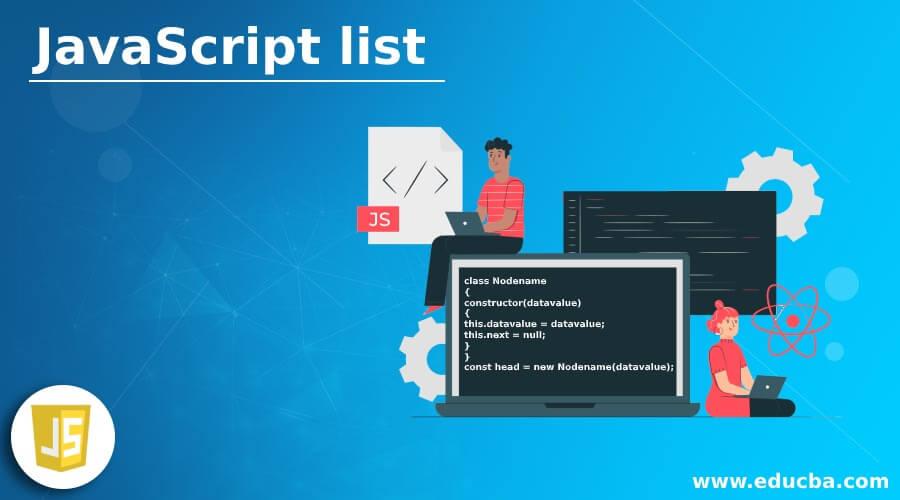 JavaScript list