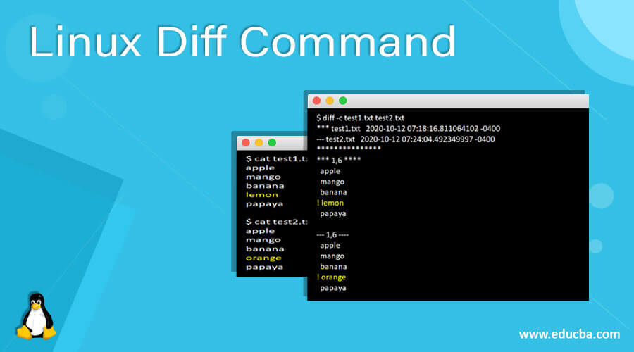 Linux Diff Command