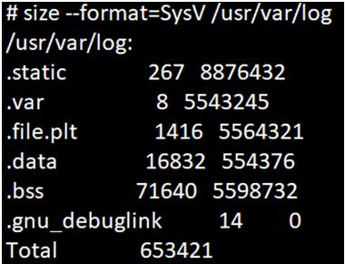 Linux Size-1.4