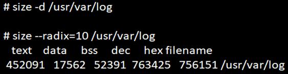 Linux Size-1.8
