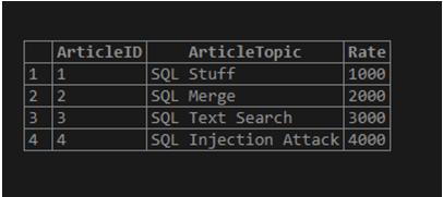 Merge SQL-1.1
