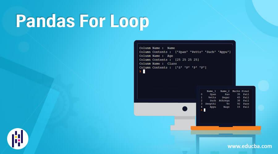 Pandas For Loop