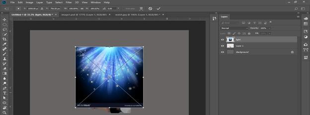 Photoshop hologram effect output 13