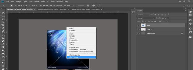Photoshop hologram effect output 14