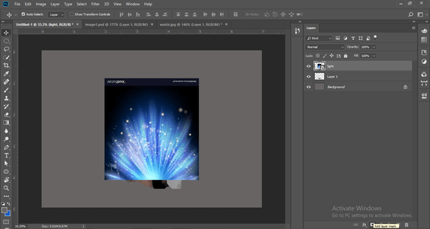 Photoshop hologram effect output 15