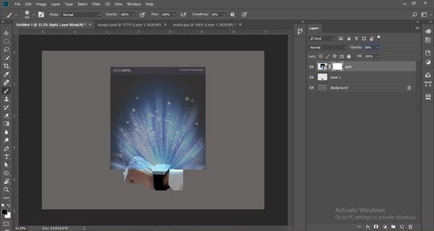 Photoshop hologram effect output 17