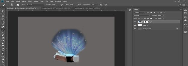 Photoshop hologram effect output 18