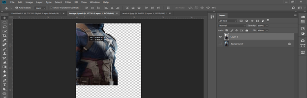 Photoshop hologram effect output 19