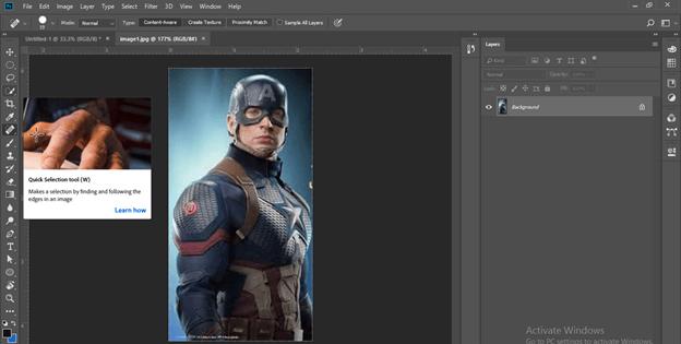 Photoshop hologram effect output 7