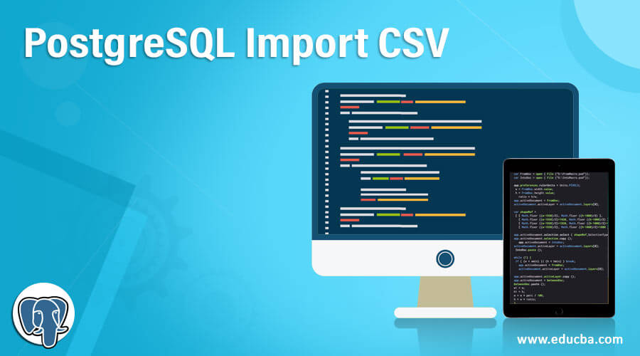 PostgreSQL Import CSV