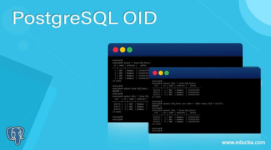 PostgreSQL OID