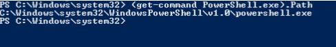 PowerShell Executable Location 2