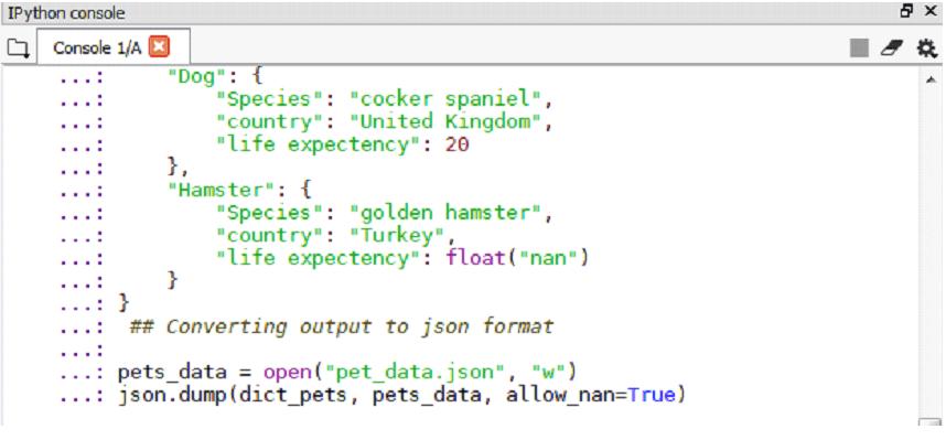Python Dump-1.5