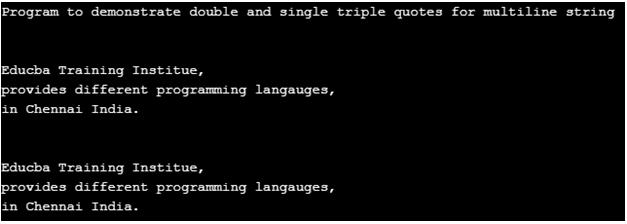 Python Multiline String-1.1