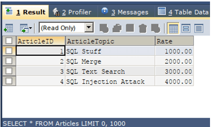 SQL Except Select-1.3