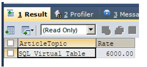 SQL Except Select-1.5