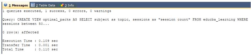 SQL Virtual Table-1.2
