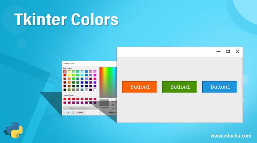 Tkinter Colors