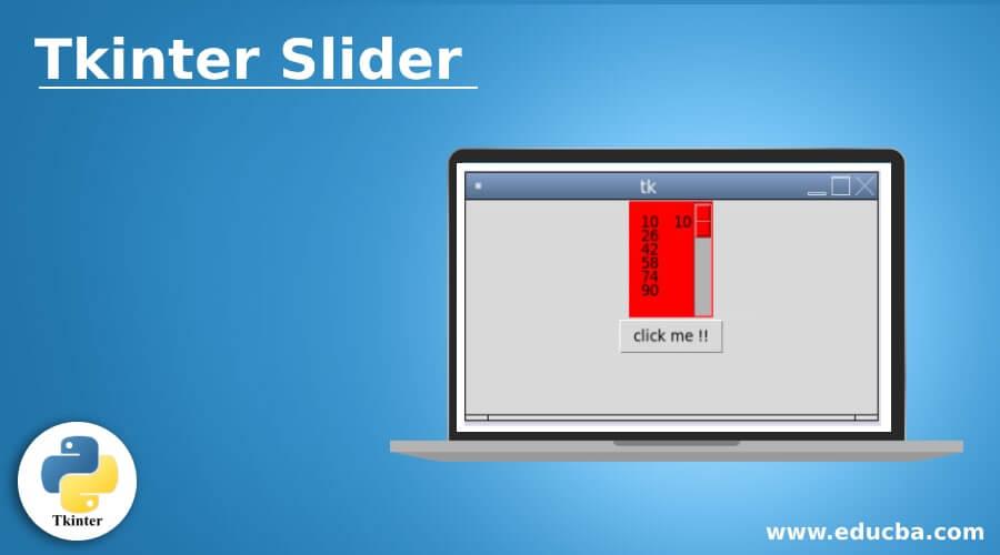 Tkinter Slider