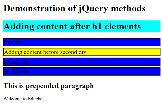 jQuery Reference 2