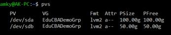 linux LVM 1