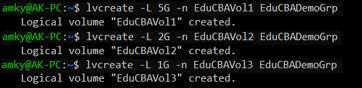 linux LVM 3