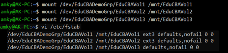 linux LVM 6