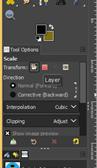 GIMP resize image output 18
