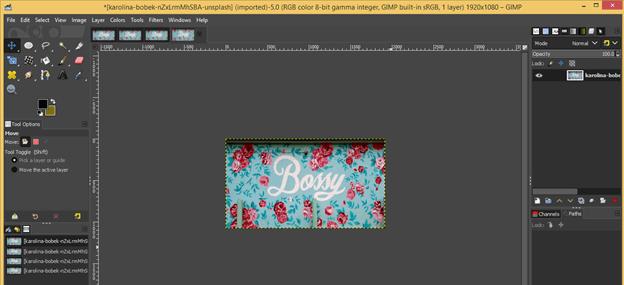 GIMP resize image output 9