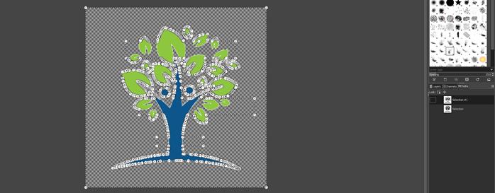 GIMP vector graphics output 13