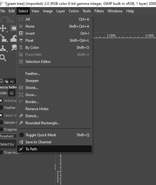 GIMP vector graphics output 5