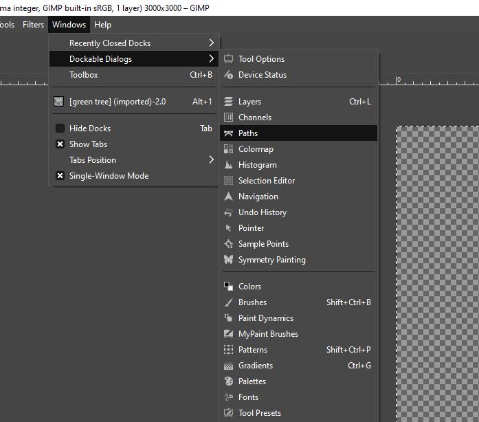 GIMP vector graphics output 6