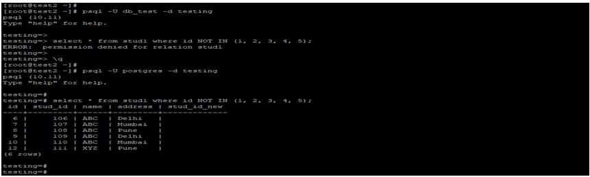 PostgreSQLNOT IN-1.1