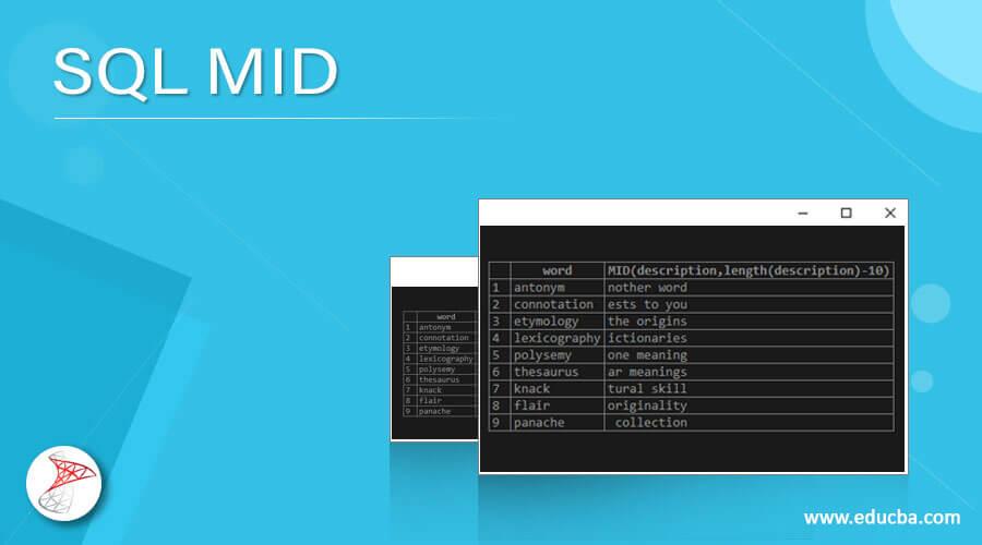 SQL MID