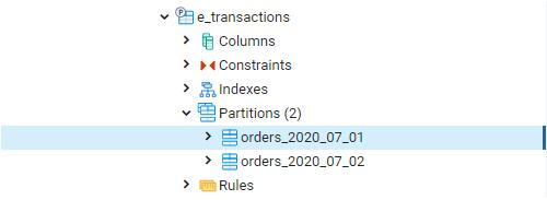 e-transactions table 2