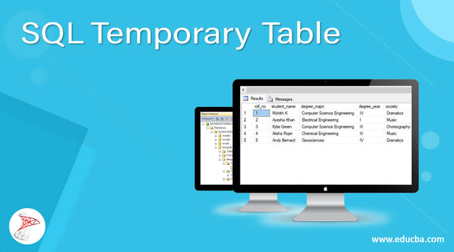 SQL Temporary Table
