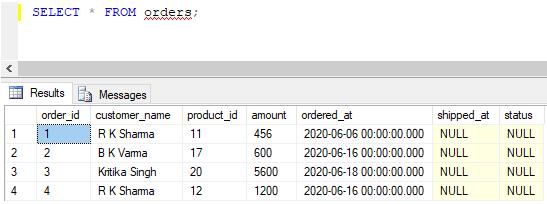 SQL UPDATE Trigger 3