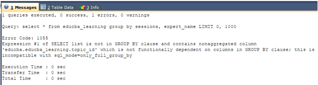 SQL group by multiple columns 3