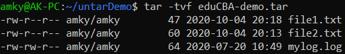 Linux Untar 5