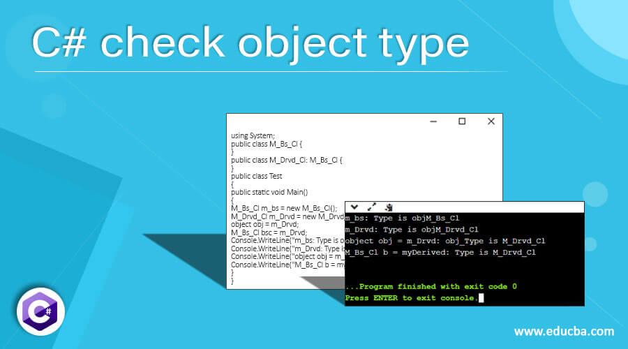 C# check object type