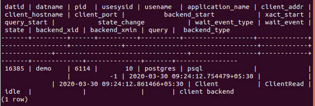 DROP Database 1