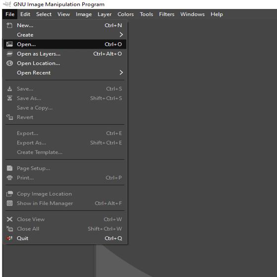 GIMPChange Background Color 1