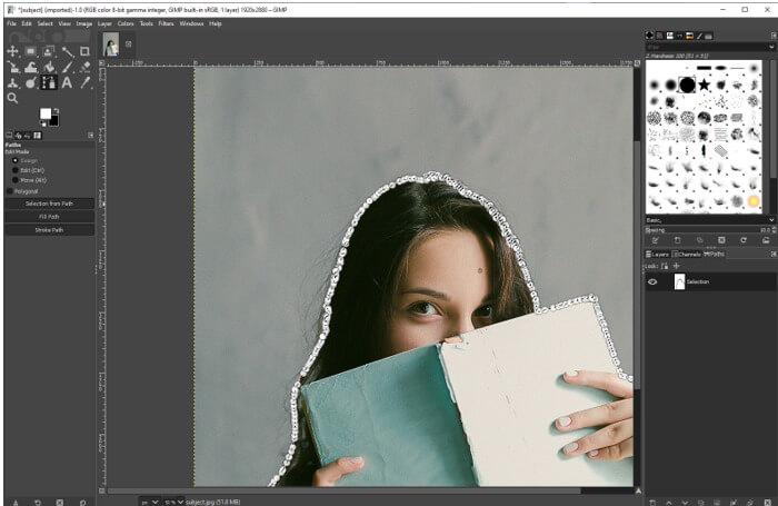 GIMPChange Background Color 11