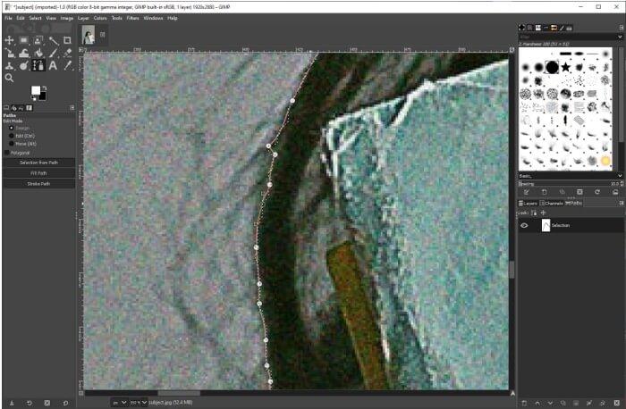 GIMPChange Background Color 12