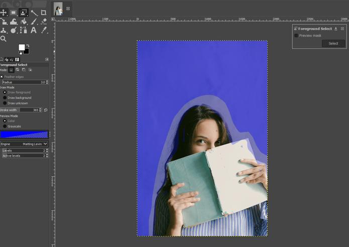 GIMPChange Background Color 6