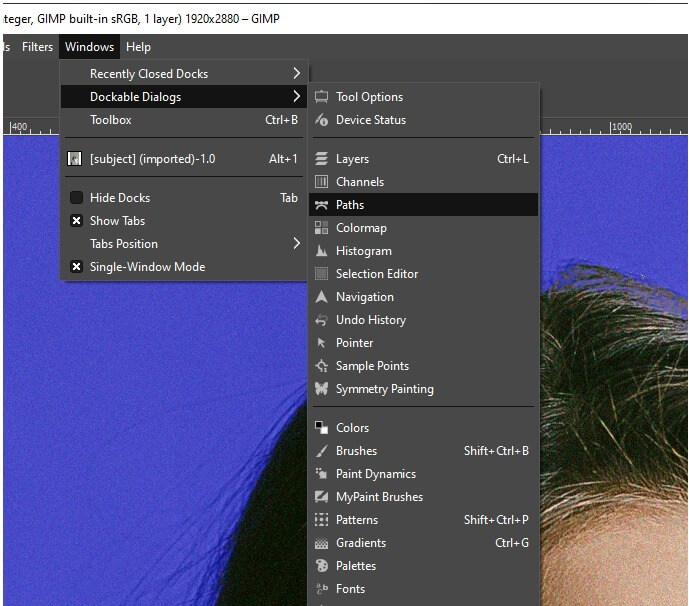 GIMPChange Background Color 9
