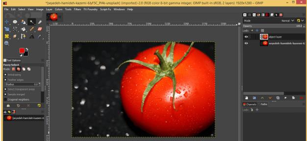 GIMP Floating Selection 15